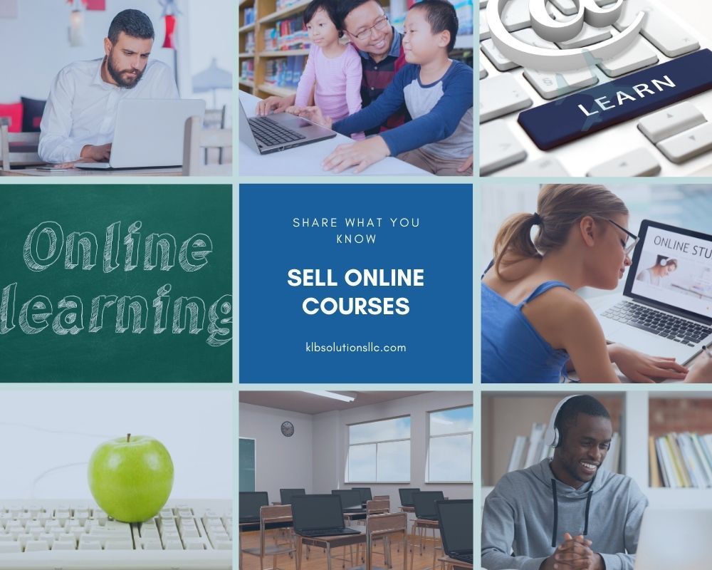 Online Courses are a great way to make passive income